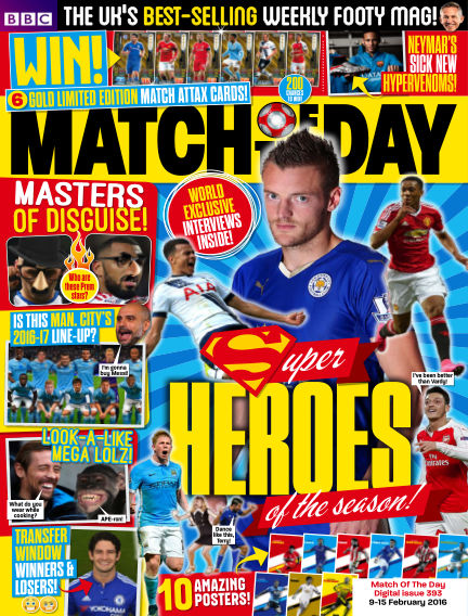Match of the Day February 08, 2016 00:00