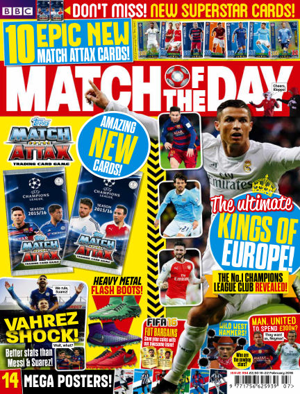 Match of the Day February 15, 2016 00:00