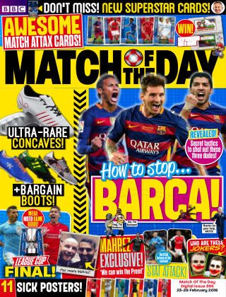 Match of the Day Issue 395