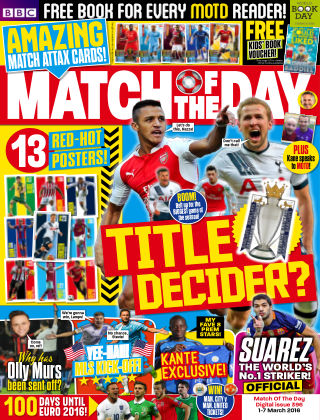 Match of the Day Issue 396