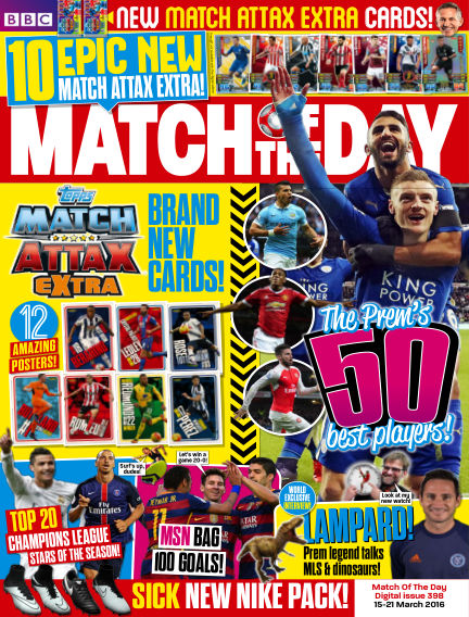 Match of the Day March 14, 2016 00:00