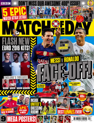 Match of the Day Issue 400