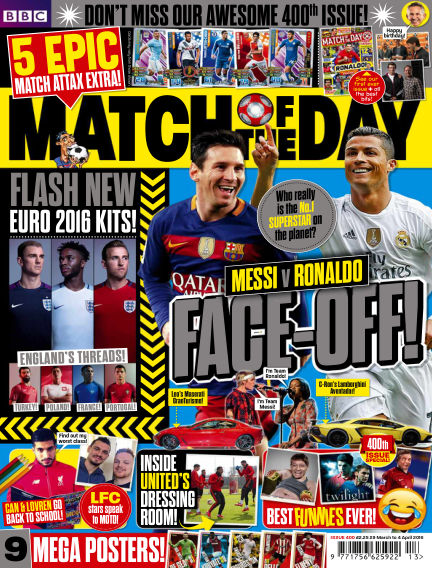 Match of the Day March 28, 2016 00:00
