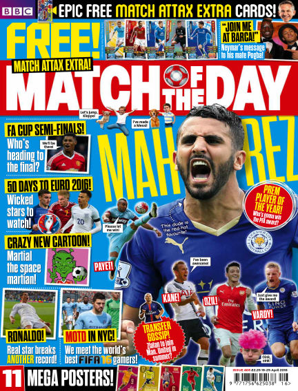 Match of the Day April 18, 2016 00:00