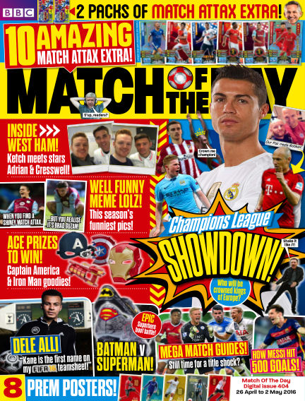 Match of the Day April 25, 2016 00:00