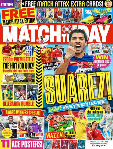 Match of the Day May 03, 2016 00:00