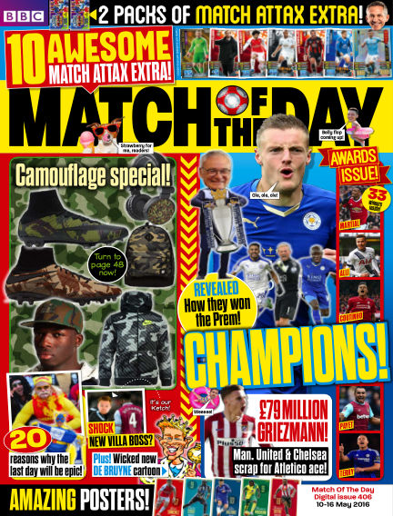 Match of the Day May 09, 2016 00:00