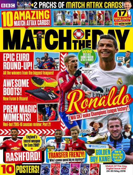 Match of the Day May 23, 2016 00:00