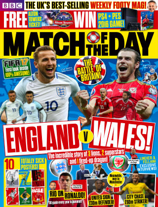 Match of the Day Issue 411