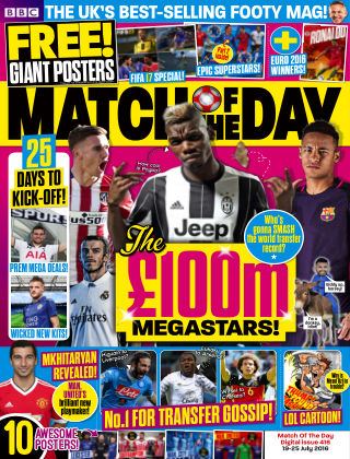 Match of the Day Issue 416