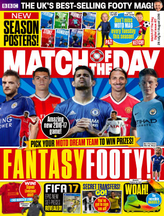 Match of the Day Issue 417
