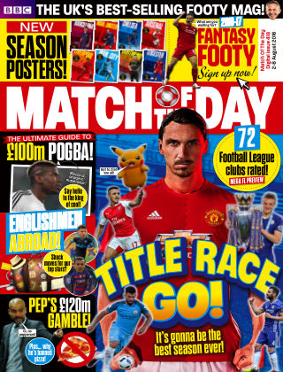Match of the Day Issue 418