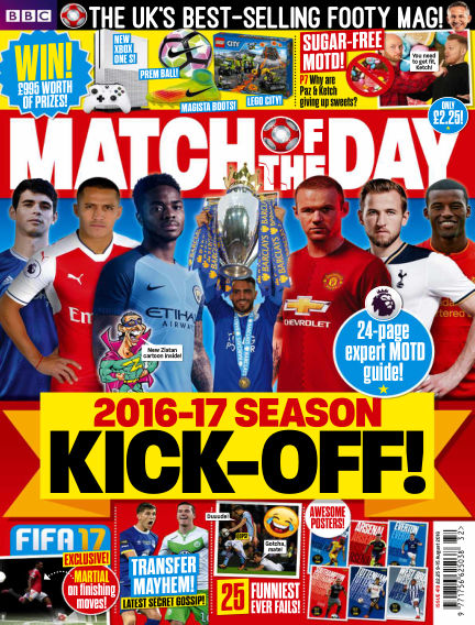 Match of the Day August 08, 2016 00:00