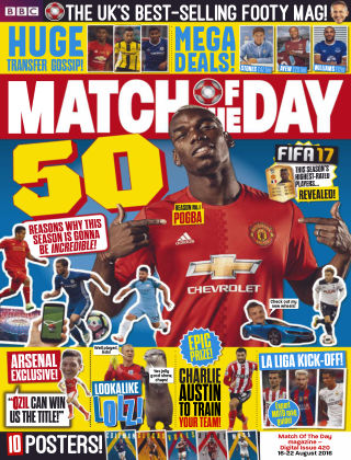 Match of the Day Issue 420