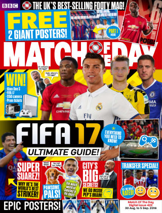 Match of the Day Issue 422