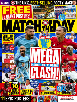 Match of the Day Issue 423