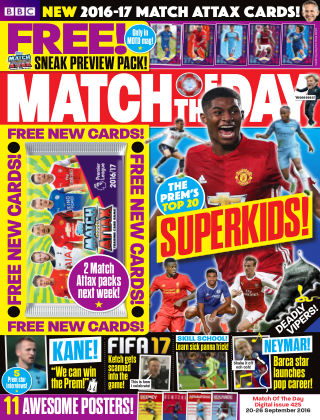 Match of the Day Issue 425
