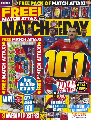 Match of the Day Issue 428