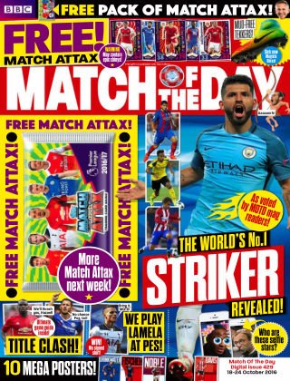Match of the Day Issue 429