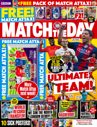 Match of the Day Issue 431