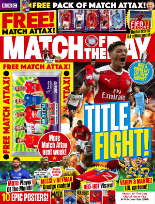 Match of the Day Issue 432