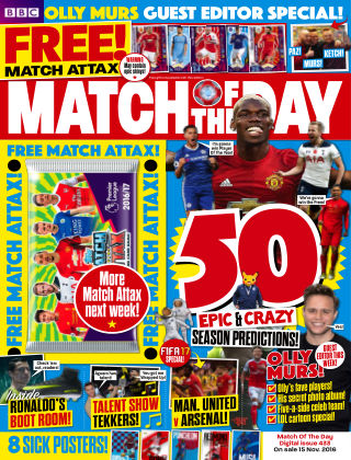 Match of the Day Issue 433