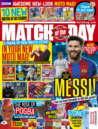 Match of the Day Issue 443