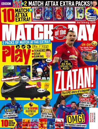 Match of the Day Issue 447