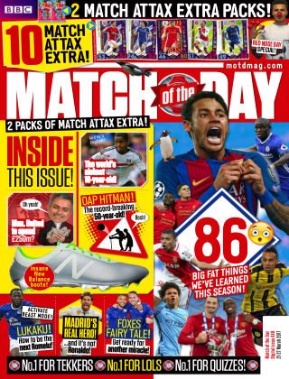Match of the Day Issue 448