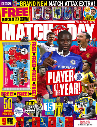 Match of the Day Issue 449