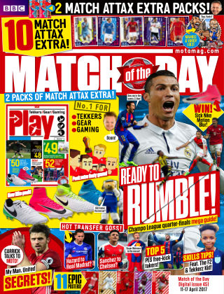 Match of the Day Issue 451