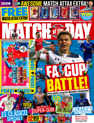 Match of the Day Issue 452