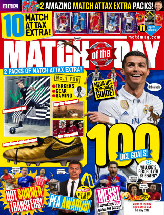 Match of the Day Issue 454