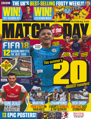 Match of the Day Issue 460