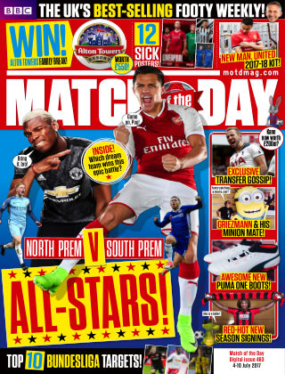 Match of the Day Issue 463