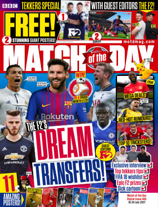 Match of the Day Issue 465