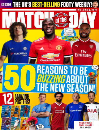 Match of the Day Issue 466