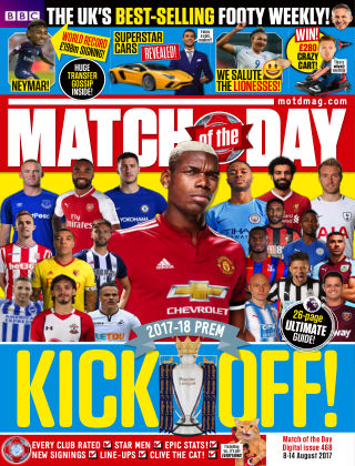 Match of the Day Issue 468