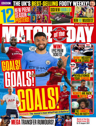 Match of the Day Issue 469