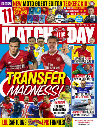 Match of the Day Issue 470
