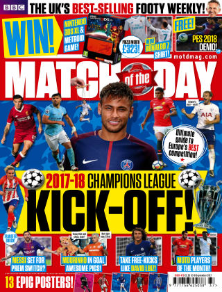 Match of the Day Issue 473