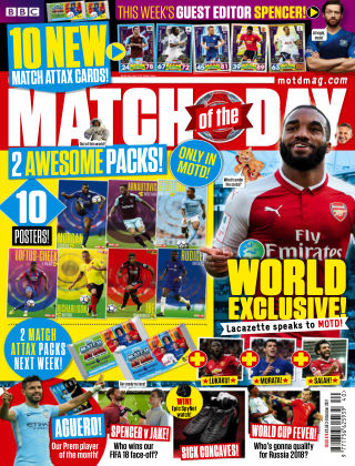 Match of the Day Issue 476