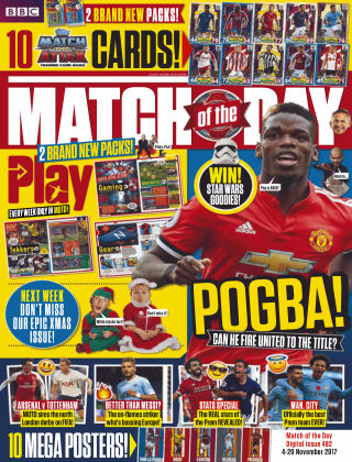 Match of the Day Issue 482