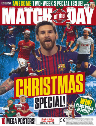 Match of the Day Issue 483