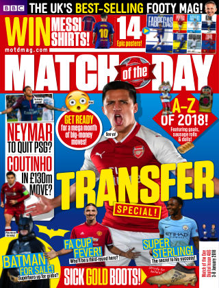 Match of the Day Issue 486