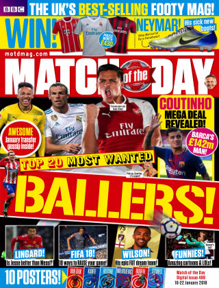 Match of the Day Issue 488