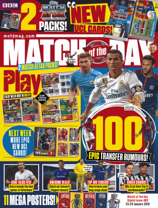 Match of the Day Issue 489