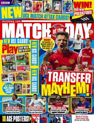 Match of the Day Issue 490