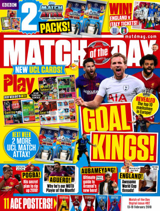 Match of the Day Issue 492