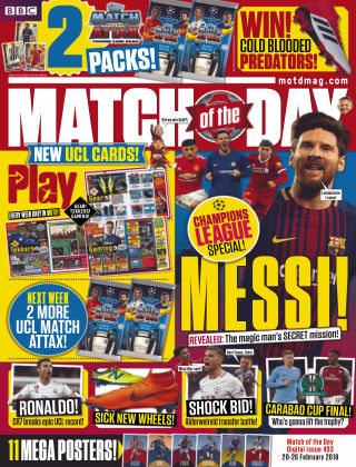Match of the Day Issue 493